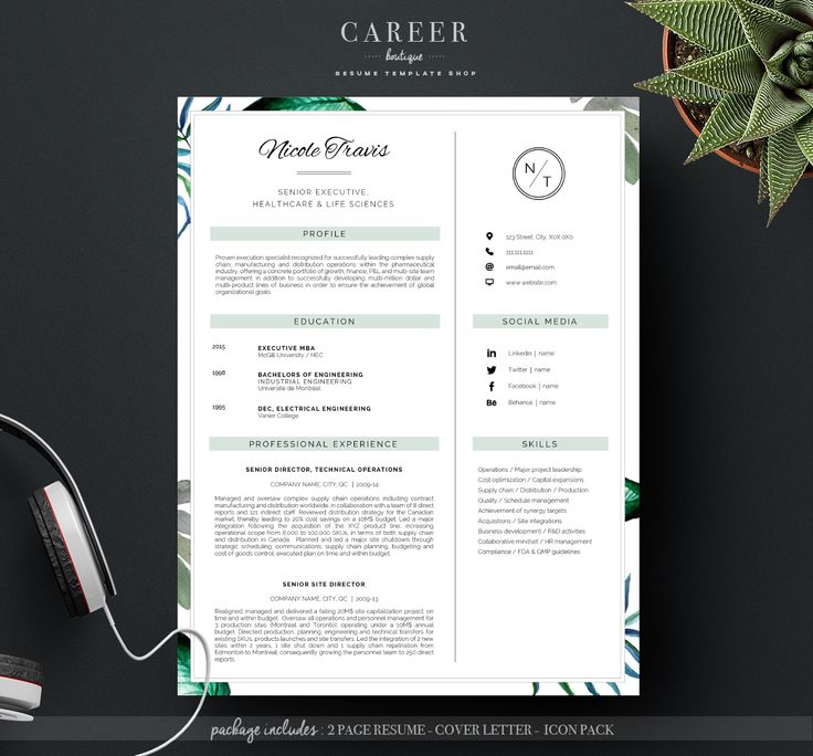 71 best ✏ Professional Resume Templates images on Pinterest - professional resume