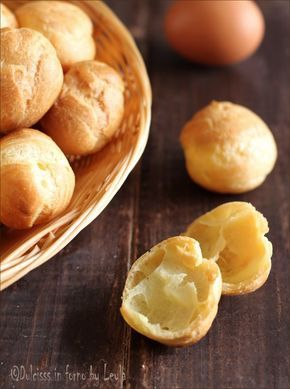 La ricetta per prepare i Bignè PERFETTI di pasta choux ! Morbidi e asciutti. #choux #bignè #ricetta