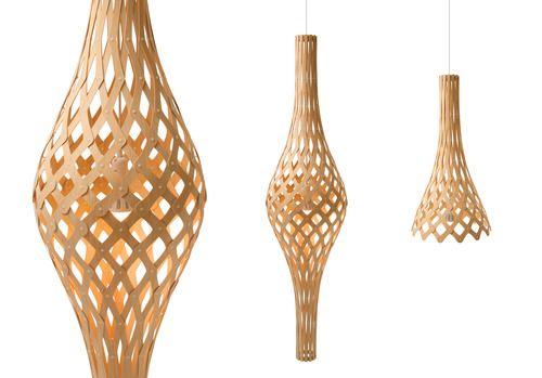 'Nikau Full Pendant Lamp by David Trubridge. @2Modern'