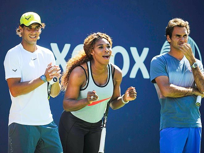 U.S. Open Tennis 2013: Serena Williams, Roger Federer, Andy Murray : People.com