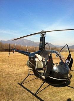Il nostro elicottero per la vostra esperienza di volo verticale