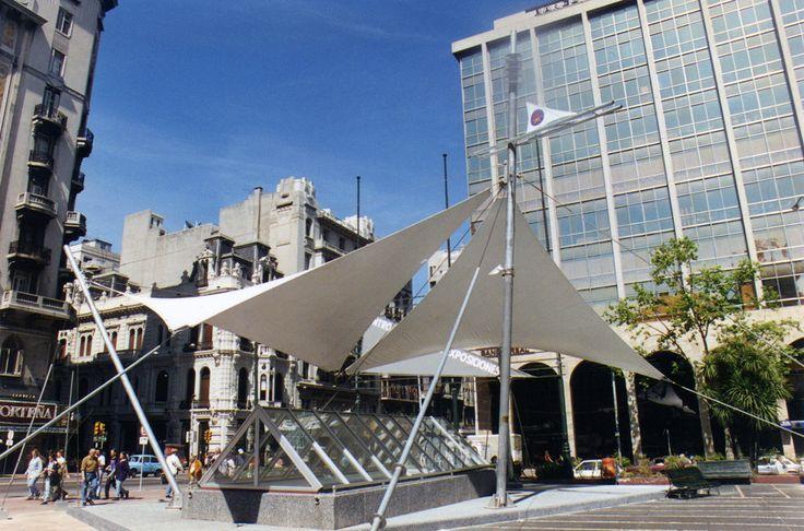 Centro de Exposiciones Plaza del Entrevero Montevideo, Uruguay 1996