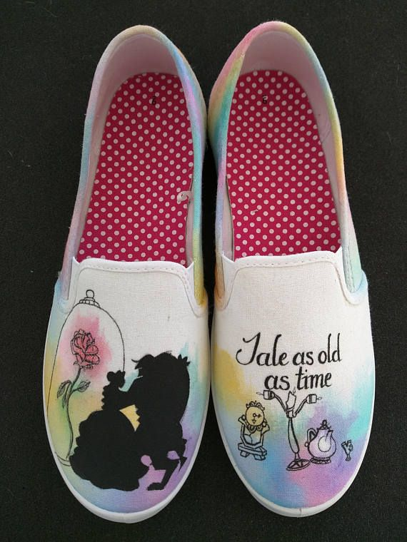 Painted shoes, Disney painted shoes