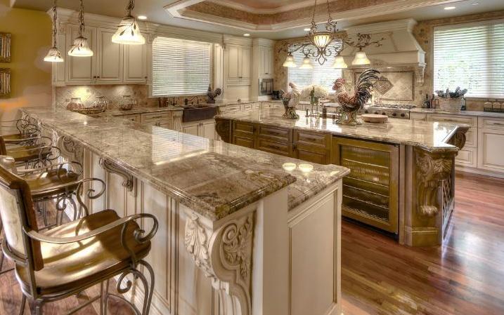 Fancy kitchen design. | For the Home | Pinterest