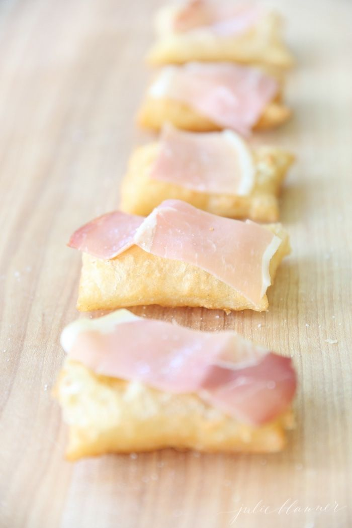 Gnocco Fritto Recipe | easy fried dough puffs with proscuitto