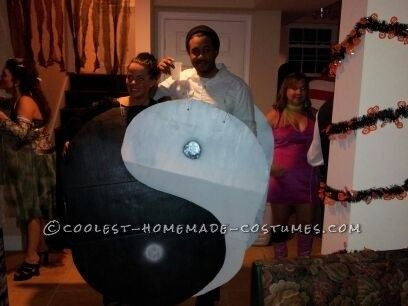 Homemade Yin and Yang Couple Costume | To be, Homemade and ...
