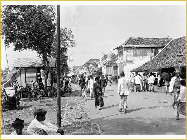 Jalan Dukuh Surabaya (Pasar Gili - Jl. Kalimati) 1915.