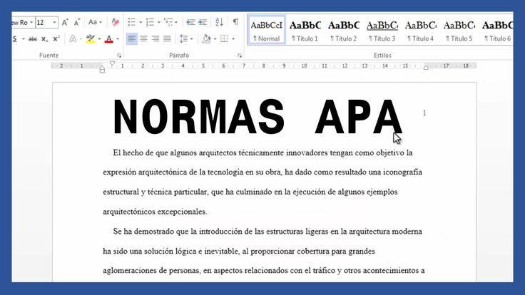 Word - Márgenes, textos y paginado según normas APA. Tutorial en español HD