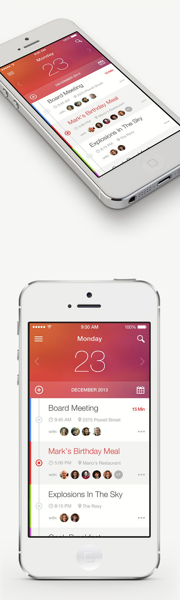 Calendar Planner #WebDesign #ResponsiveDesign #Design #Web #UI #UX #GUI #mobille #Amazing #Responsive