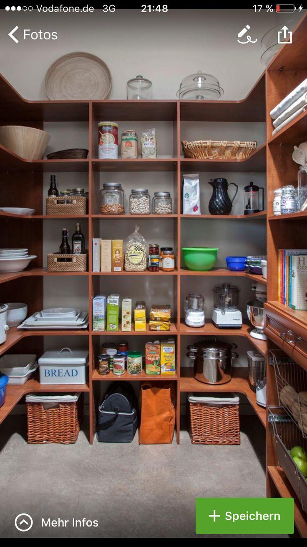 43 best Speisekammer images on Pinterest | Küchenstauraum ...