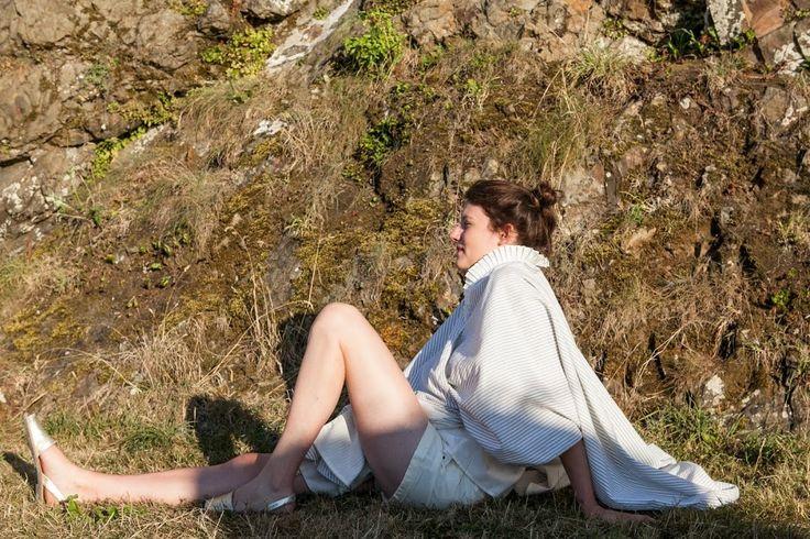 #71bis #DresseToBed #frenchbrand #sleepwear #lifestyle #kimono #rayures