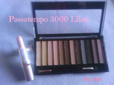 Blog Pink Stuff: Passatempo Make Up Revolution