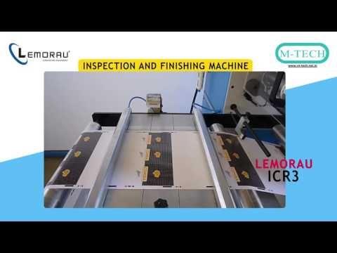 Lemorau ICR 3 Slitter & Rewinder  with 100% Inspection System
