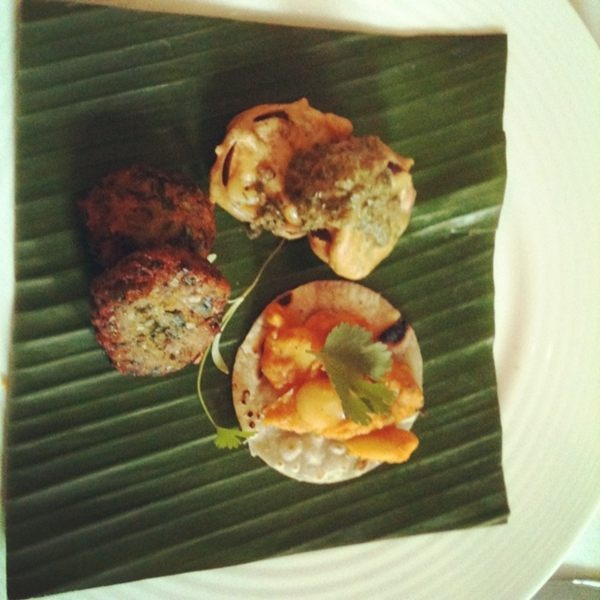 Mauritian Street Food Starter .. Private Dining