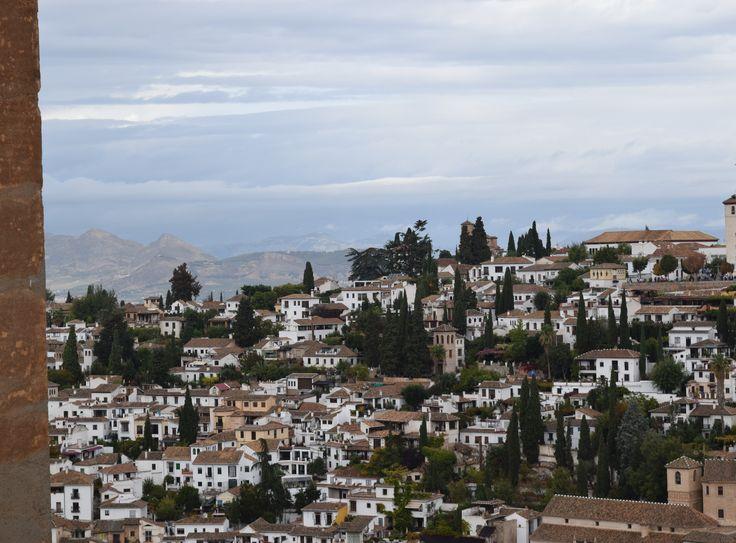 Grenade, vue de L'Alhambra, Espagne