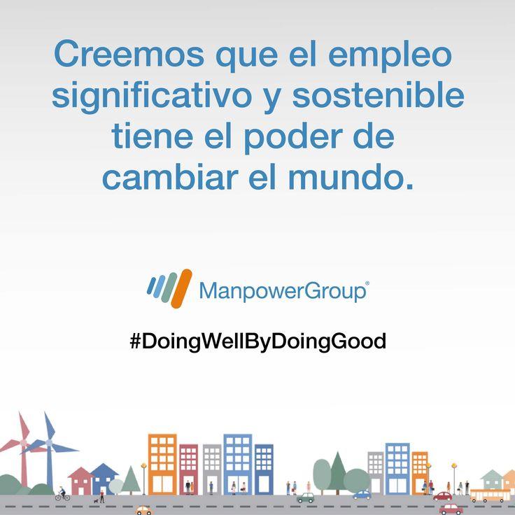 Estamos orgullosos de ser una Empresa Socialmente Responsable. #doingwellbydoinggood #Readyforwork #Inclusive #Learnability