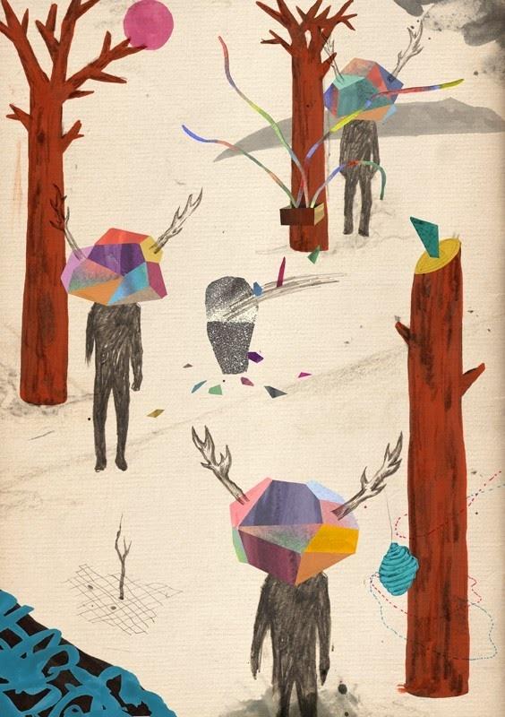 Nick Lu: Art Illustrations, Art Lovers, Creative Illustrations, Illustrations Inspiration, Art Inspiration, Illustrations Work, Graphics Design, Art Shape, Inspiration Art
