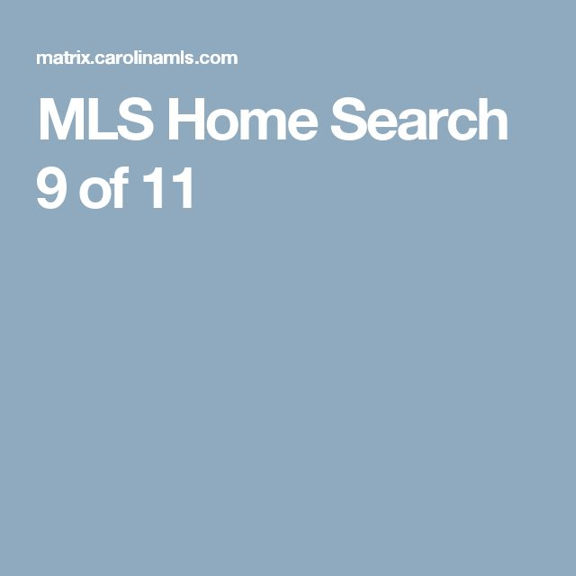 MLS Home Search  9 of 11
