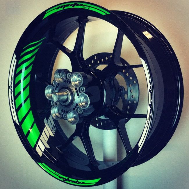 Bmw M Stripes: GP Racing Wheel Stripes Design 2