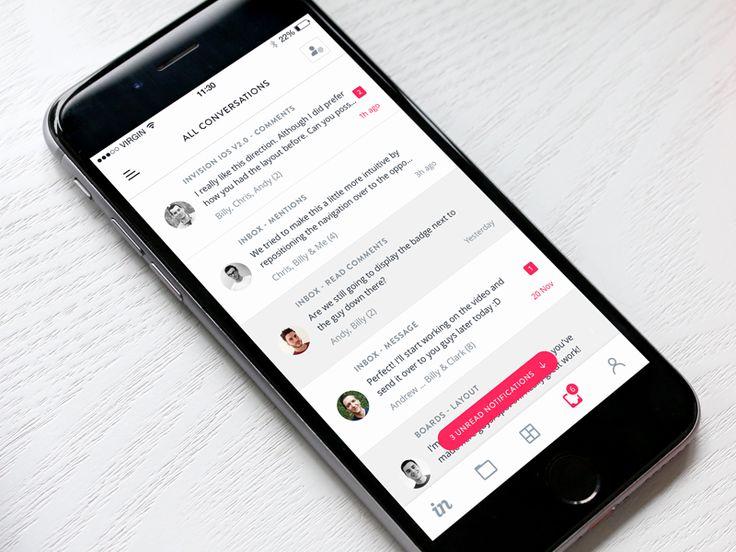 InVision Inbox for iOS