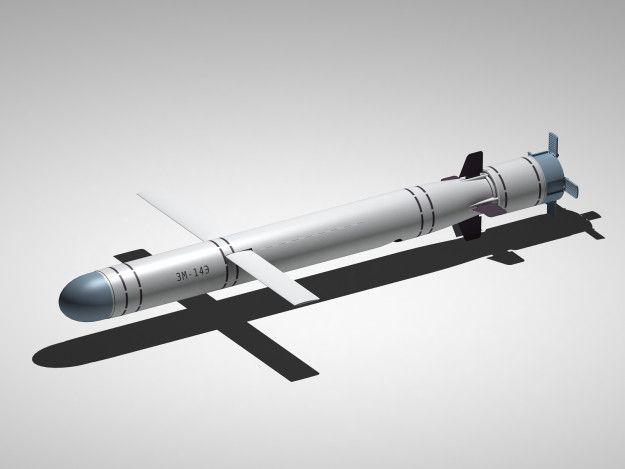 3M14T es la variante de ataque de la tierra de guía inercial que se despliega por la Armada de Rusia. Un buque de superficie con VLS lanzó misil, con empuje vectorial de refuerzo, su longitud básica es de 8,9 m (29 pies), su peso ojiva y el otro funcionamiento son los mismos que el 3M14K. Rusia disparó 26 misiles de crucero 3M14T de cuatro buques de superficie en el mar Caspio contra 11 objetivos en Siria el 7 de octubre de 2015.
