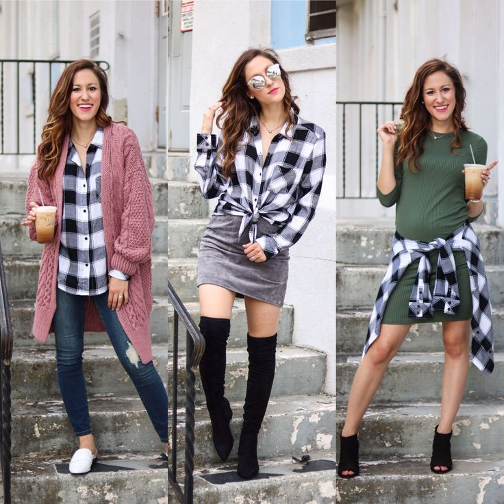 1 Thing, 3 Ways: Plaid Shirt (Nordstrom Sale Edition!) (With ...