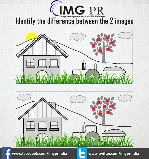 Let's Try!!! Game is ON!!!  Let us see who finds the maximum number of differences in the 2 images?  Like and challenge your friend by tagging him/her, if they can find more differences than you.   #imgpr #finddifference #quiz #publicrelations #pragency #imgprindia #trustedpragency #punjab #img #imgprchandigarh #mediarelations