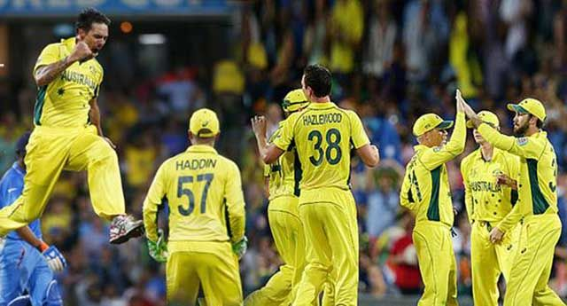 Heart break for Indians as MenInBlue crash out of CWC15 Read complete story click here http://www.thehansindia.com/posts/index/2015-03-26/Heart-break-for-Indians-as-MenInBlue-crash-out-of-CWC15-140072
