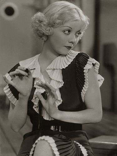 Actress Alice White, 1933 oh the dress!Photos, Hollywood Beautiful, Alice White, 1933, Vintage Hollywood, Actresses Alice, 1930S Style, 1930 S, Classic Hollywood