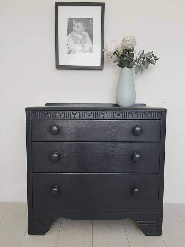 farrow and ball railings chest of drawers