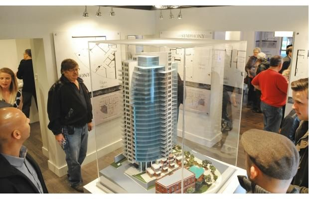 New downtown Symphony Tower home to most expensive condo in Edmonton - EDMONTON — It is still more than two years from welcoming residents, but the Symphony Tower is striking the right chord with home buyers in Edmonton.