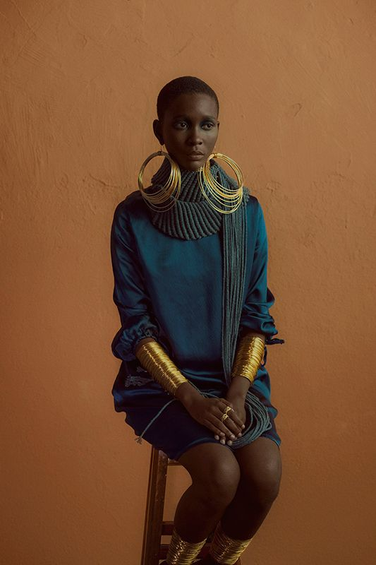 Exaggerated accessories in a muted colour palette #KISUAInspired