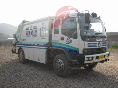 16 M3 Compressed waste Garbage Compactor Truck For Sale