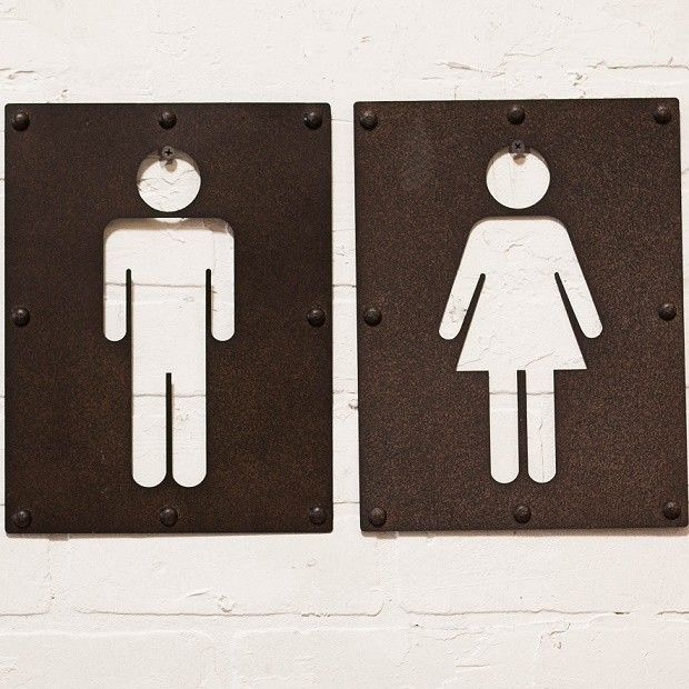 Best DamasCaballeros Images On Pinterest Toilets Men And - Men and women bathroom signs for bathroom decor ideas