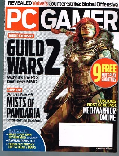 PC GAMER Magazine (June 2012) World Exclusive: « Library User Group