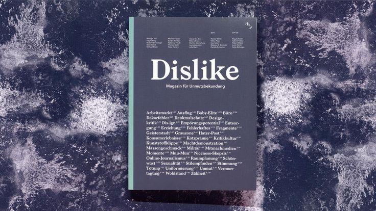 inspirimgrafik:  http://dislikemagazine.ch/