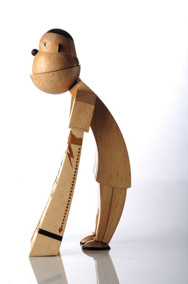 Wowwww.... Beautiful Wooden Designer Toys   Monkey