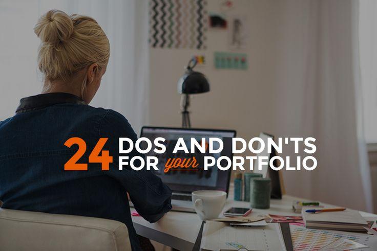 24 Essential Portfolio Tips For New Techies