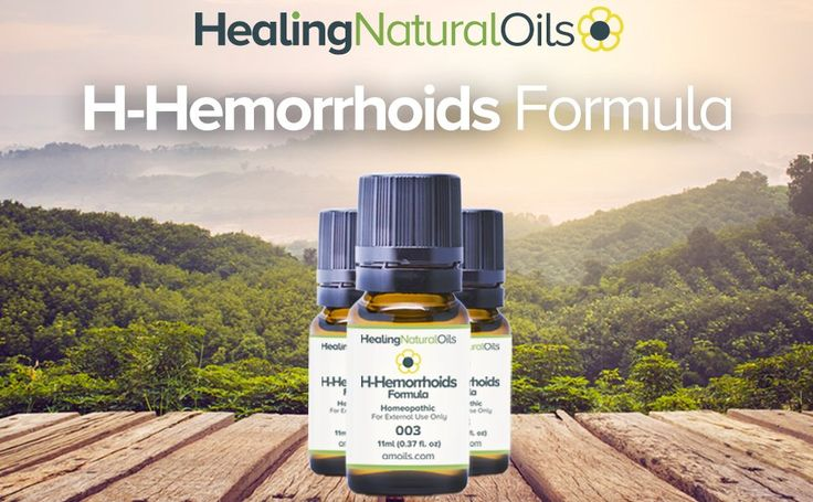H- Hemorrhoids Relief (11ml): Natural Hemorrhoid Treatment for Internal, External or Thrombosed. Reduce Swelling, Itching and Burning Immediately. A Natural Alternative to Traditional Hemorrhoid Cream