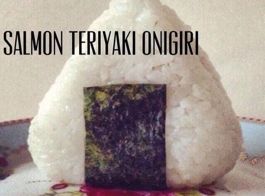 Onigiri is a traditional Japanese on the go meal; a rice ball filled with your favorite meat or veggies!