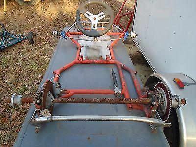 Vintage Racing Go Kart Dap Cart Frame Part