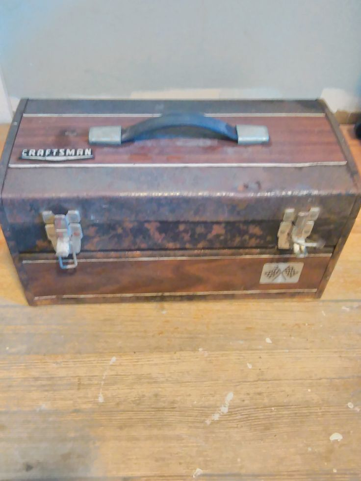 Vintage Craftsman Tool Box! by UpTheAntiqueCo on Etsy