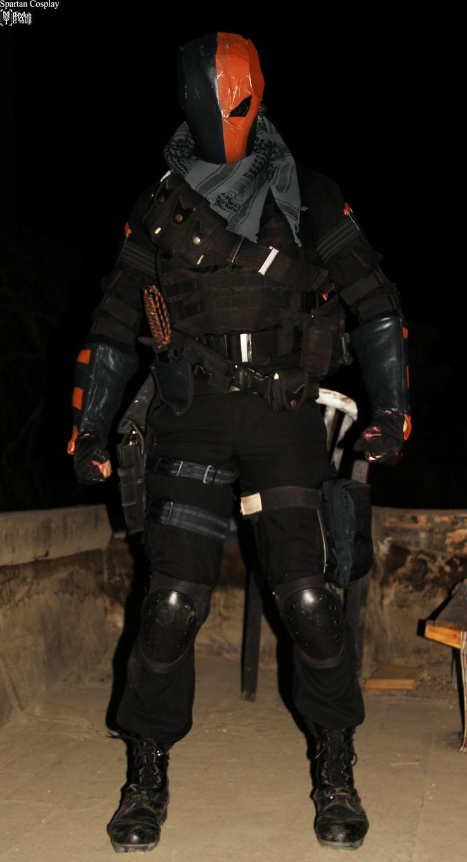 Deathstroke cosplay