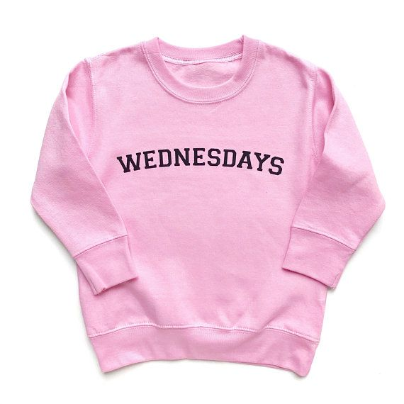 731b1169 Wednesdays Sweatshirt, Mean Girls, We Wear Pink Tee Shirt, Funny Girls  Shirt, BFF clothes, Best Frie | Products in 2019 | Mean girls shirts, Mean  girls ...