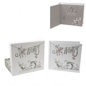 Silver Wedding Gift For Husband : wedding anniversary photo album makes ideal gift for a Silver Wedding ...