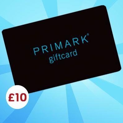 £10 Primark Gift Card