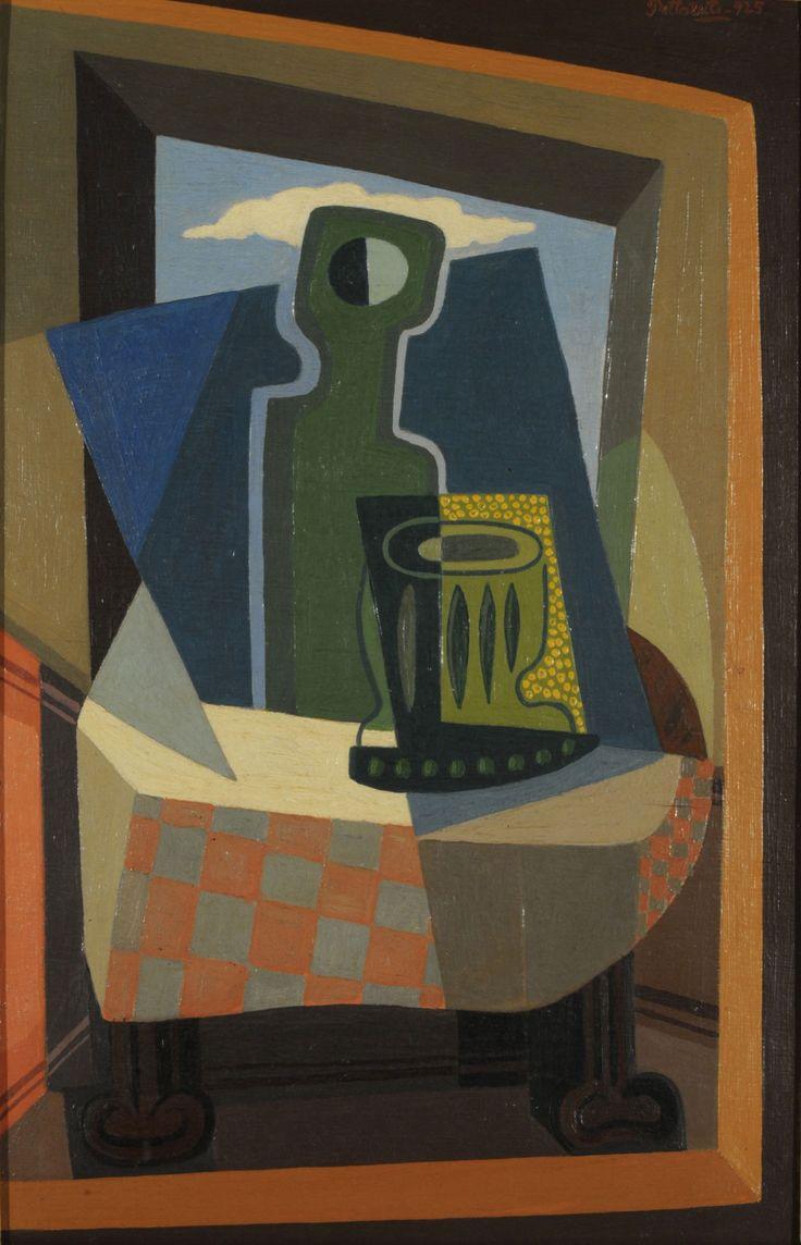'Sombra en la ventana' (1925) by Emilio Pettoruti