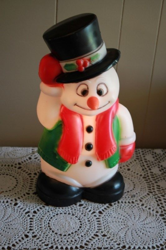 330 best Vintage Christmas Blowmolds images on Pinterest | Vintage ...