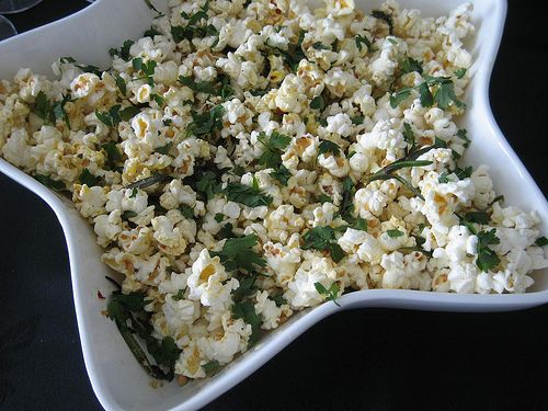 Herb and Chilli Popcorn | Cooking / baking pinspiration | Pinterest