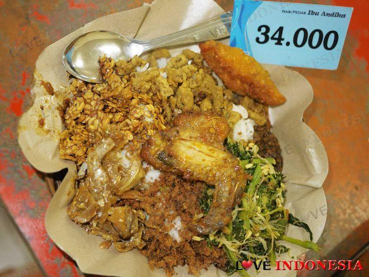 Nasi Pedas Ibu Andika, Bali: Restaurant Review by Love Indonesia